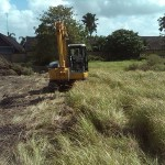 Site Preparation Dipan Villas Petitenget Kuta