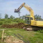 Site Preparation Surya Villas Balangan